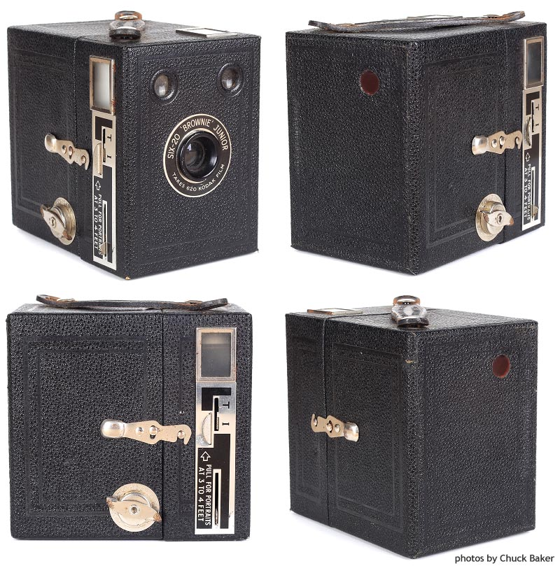 Kodak Six-20 Brownie Junior (Portrait Model) Camera