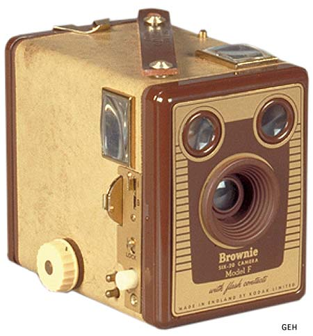 Six 20 Kodak Brownie Model F