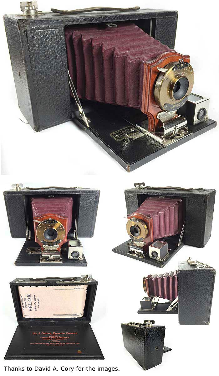 Kodak No. 3 Folding Brownie Camera image by David A. Cory
